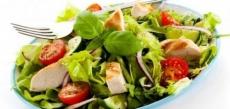 Gemischter Salat: