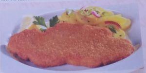 Tintenfisch gebacken